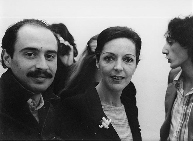 Ketty La Rocca e Sandro Lombardi