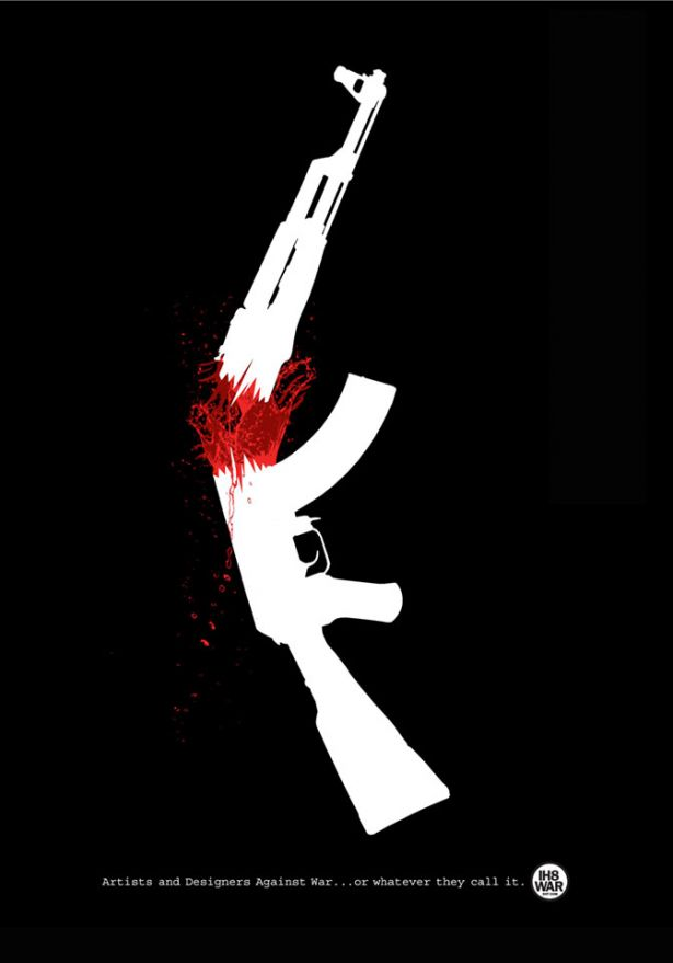 ©Dylan Madigan, United States - Broken Gun, Artists and designers against war… or whatever they call it