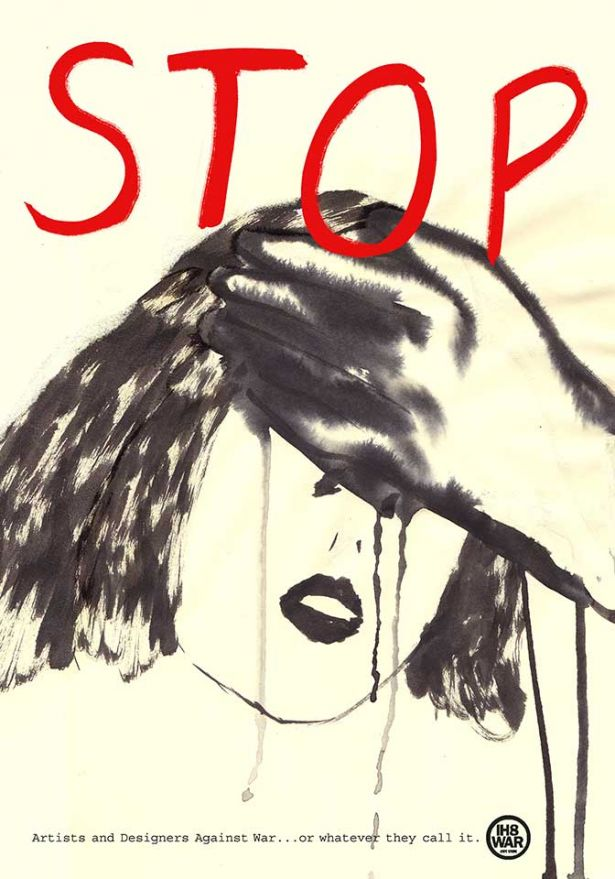 ©Nina Masina, Italy - STOP, Artists and designers against war… or whatever they call it