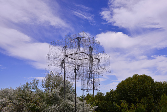 Barbara Licha, Listen Time Passes - Sculpture by the Sea, Cottesloe 2016
