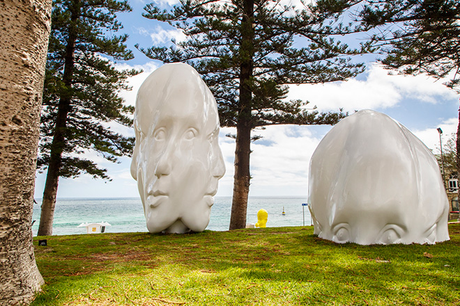 Sonia Payes - Re:Generation, (2014), Sculpture by the Sea, Cottesloe 2016. Photo Jessica Wyld