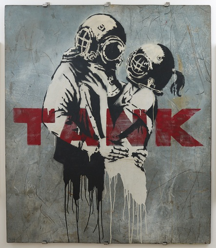 Banksy - Think Tank, Andipa Gallery, The Folco Collection
