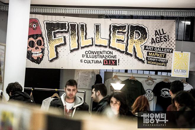FILLER - Convention di arte, illustrazione e grafica punk