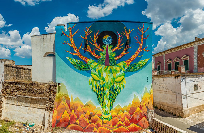Gola Hundun - Viavai Project, Racale, 2014