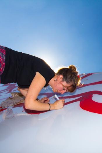 Marina Vargas - Truck Art Project