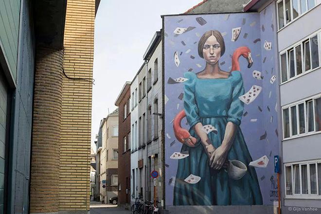 Milu Correch - Alicia Duerme, Mechelen Murt 2015, Belgio
