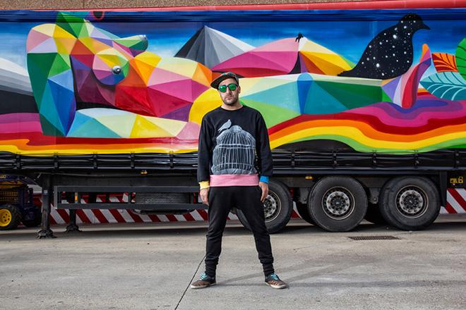 Okuda San Miguel - Truck Art Project