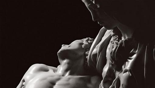 Michelangelo, Burri e Hartung nelle foto di Aurelio Amendola