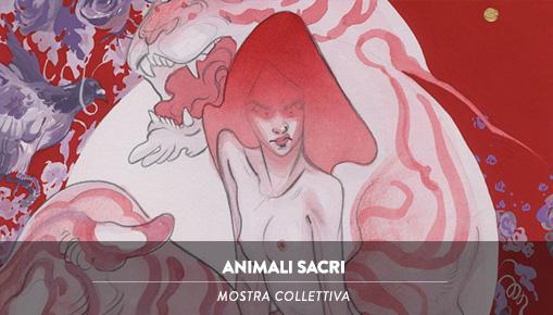 Animali Sacri - Mostra Collettiva