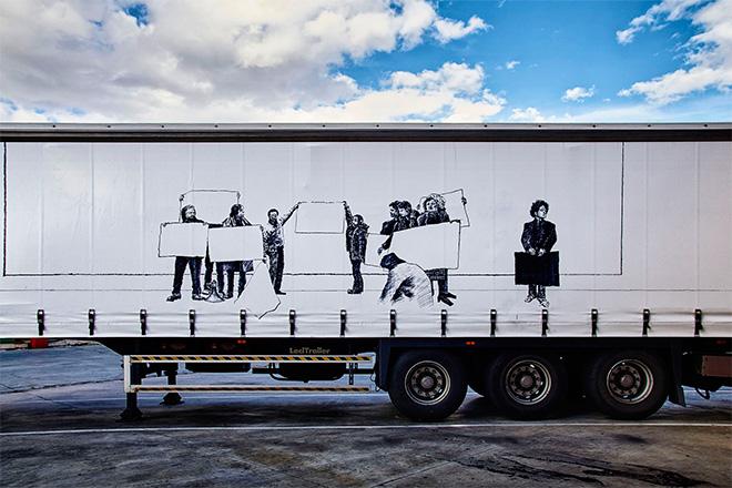Javier Arce - Truck Art Project