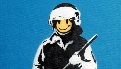 Banksy a Roma - War, Capitalism & Liberty