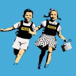 Banksy a Roma – War, Capitalism & Liberty
