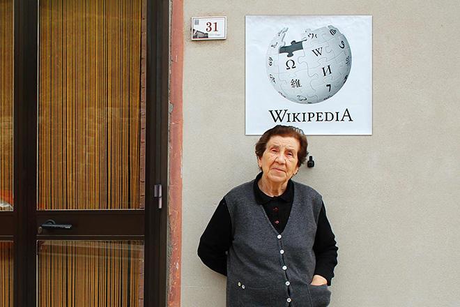 Biancoshock - Web 0.0, Wikipedia