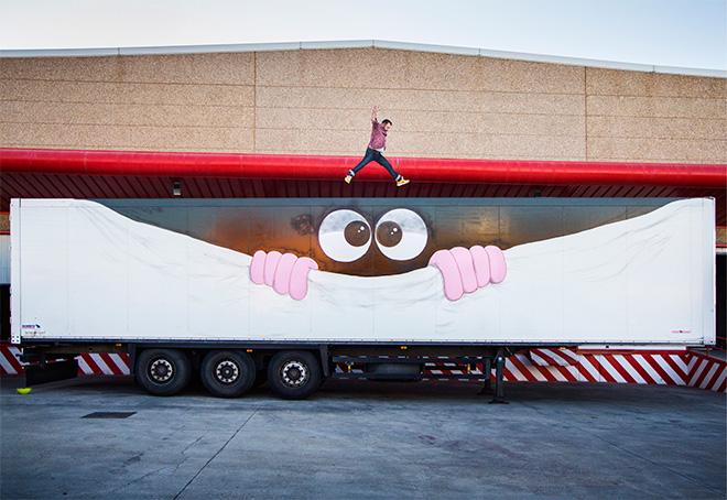 Javier Calleja - Truck Art Project
