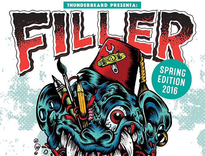 FILLER – 4° Convention di arte, illustrazione e grafica punk