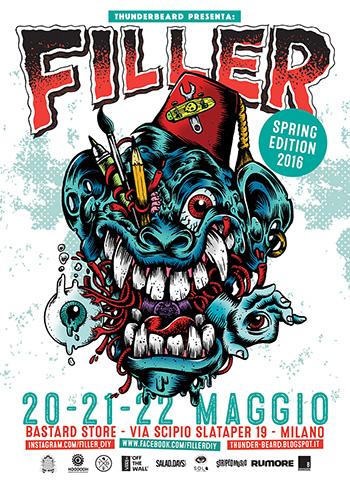 FILLER - 4° Convention di arte, illustrazione e grafica punk