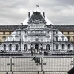 JR al Louvre – Installazione anamorfica