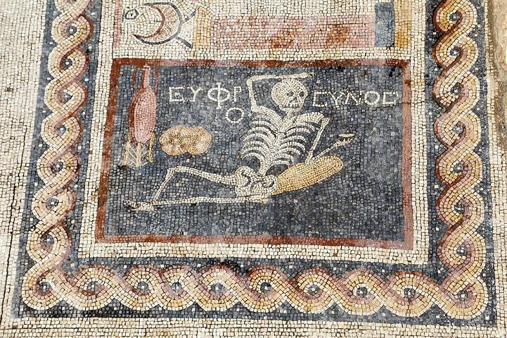 'Siate allegri, godetevi la vita' - Un antico mosaico scoperto in Turchia rivela la vera saggezza