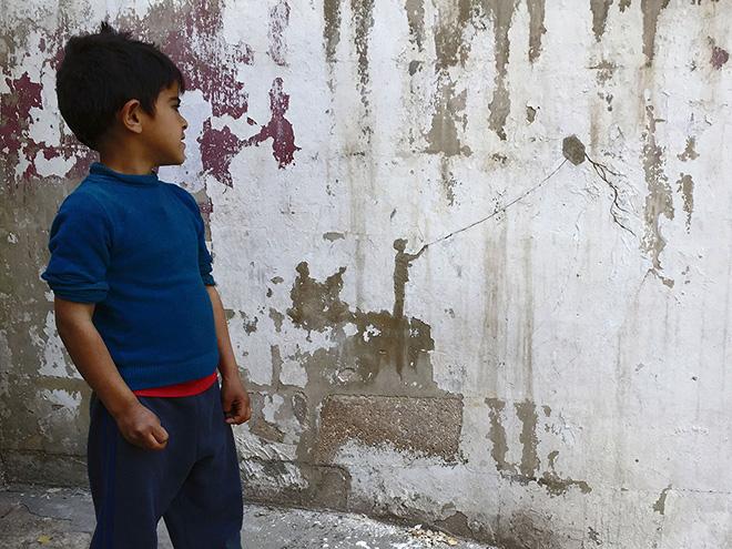 Pejac - Kite, Al-Hussein Palestinian refugee camp, Amman, Jordan | 2016