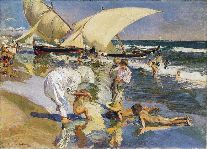 Joaquín Sorolla - Morning Light