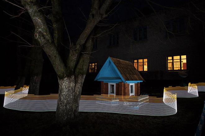Greg McNevin - Illuminare l'invisibile. Un progetto in collaborazione con Greenpeace per documentare i livelli di radiazioni ancora presenti a Chernobyl e Fukushima