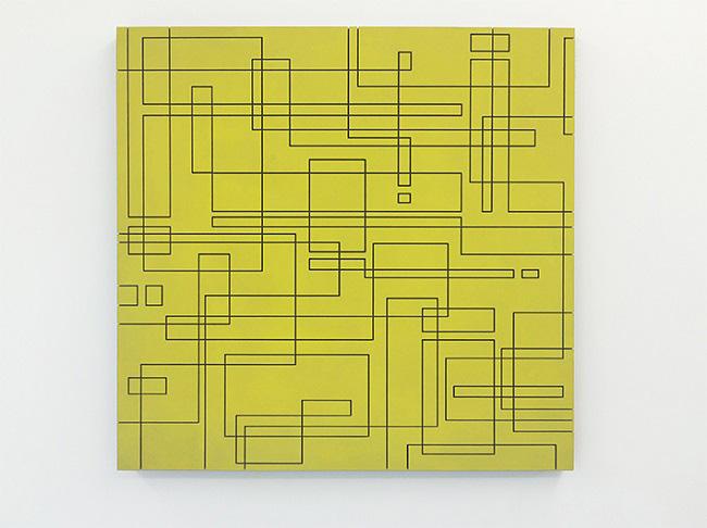 Heiko Zahlmann - Untitled, 2014, 100x100x6cm