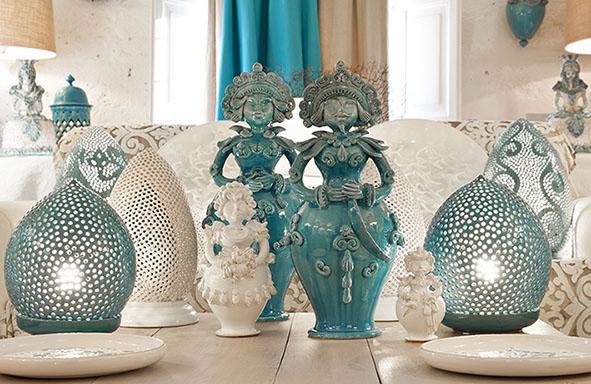 Enza Fasano Ceramiche - Interni
