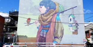 Bezt, Etam Cru - Mural Festival 2016, Montreal. photo credit: Fabien Bouchard