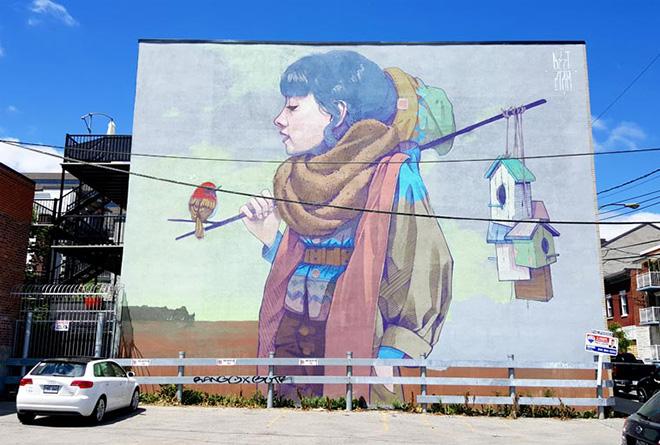 Mural Festival 2016 – L'arte urbana invade Montreal