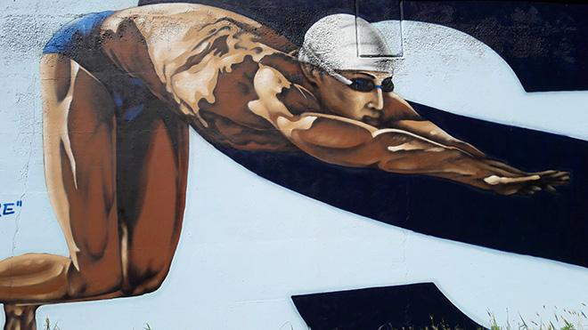 Angelarts - Street art a Pavia, Piscina Folperti