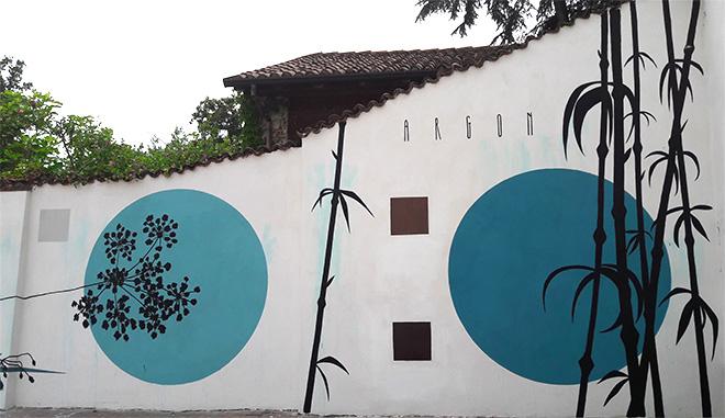 Fabio Petani - Street art a San Martino Siccomario (Pavia)