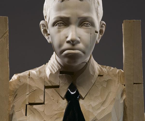 Gehard Demetz - Your fairy tales scare, 2007, 176 x 46 x 36 cm