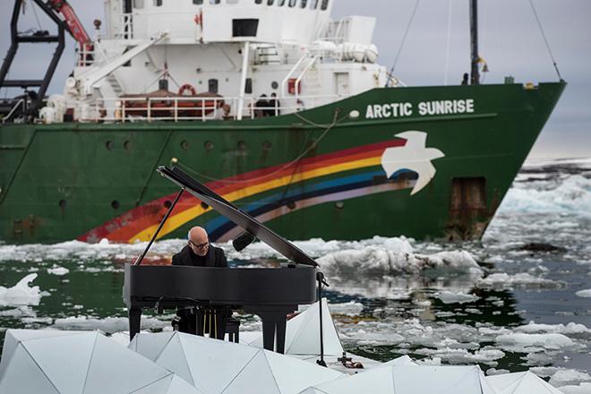 Ludovico Einaudi e Greenpeace - Musica per l'artico
