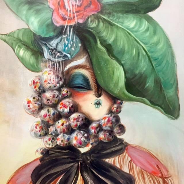 Miss Van - Retrato Floral I, 2016