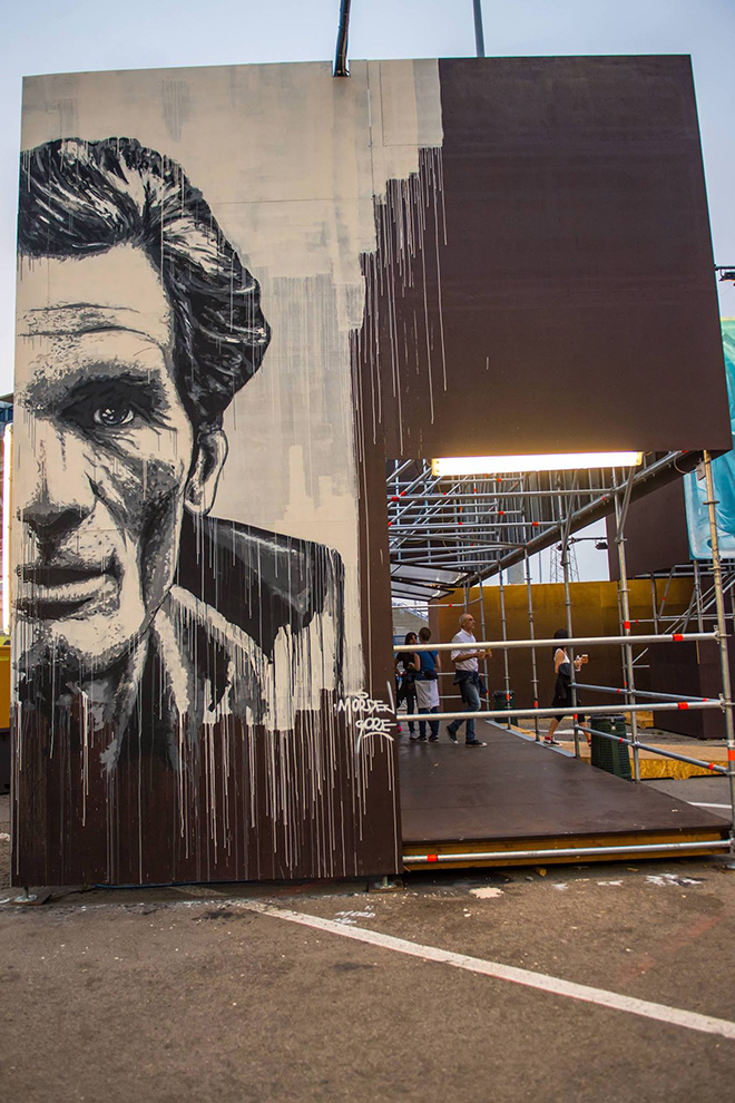 Morden Gore - Street Music Art, Milano. photo credit: Francesco Prandoni