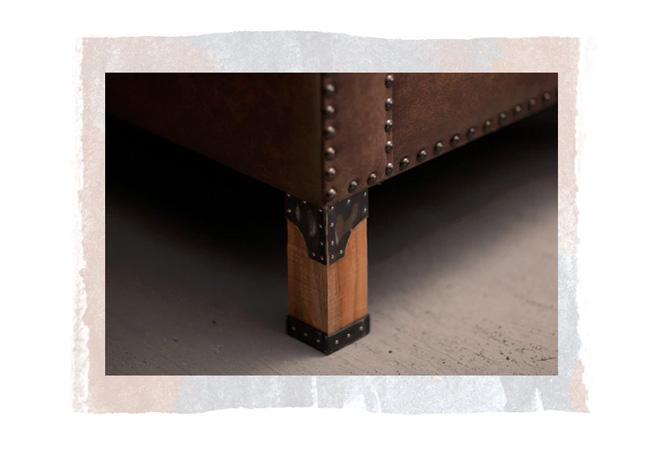 Pimp Republic - Brooklin model, Replaceable Furniture legs
