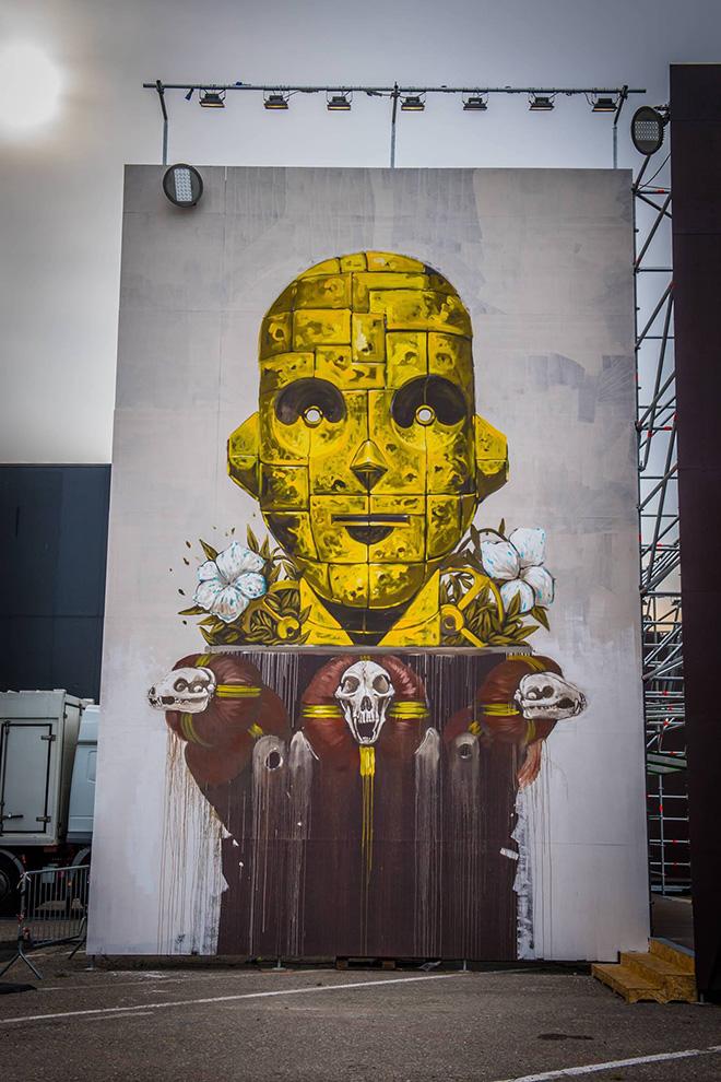 Pixel Pancho - Street Music Art, Milano. photo credit: Francesco Prandoni
