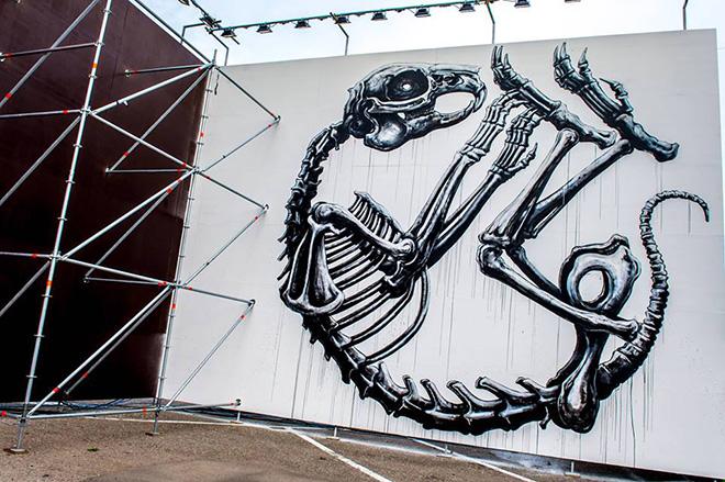 ROA - Street Music Art, Milano. photo credit: Francesco Prandoni