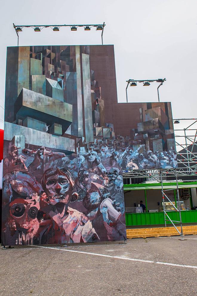 Sepe & Chazme - Street Music Art, Milano. photo credit: Francesco Prandoni