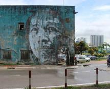 Vhils - Urban Xchange, Malasya