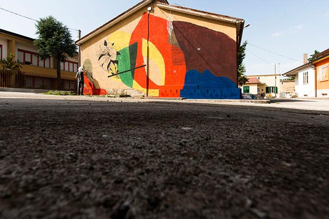 Giulio Vesprini - Cerchio GOO23, Impronte 2016, Bonito (Av) - photo credit: Salvatore Curcio