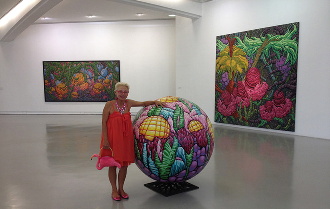 Karen Joubert Cordier - MAMAC, Nice