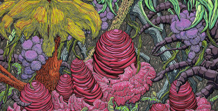 Karen Joubert Cordier - Fantasy Land, 300x300 cm, Permanent collection MAMAC Nice France