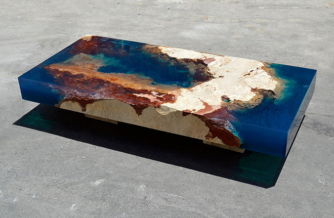 Alexandre Chapelin - New Lagoon Table