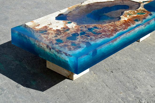 Alexandre Chapelin – New Lagoon Table