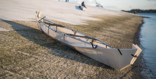 ONAK - La Canoa pieghevole come un origami