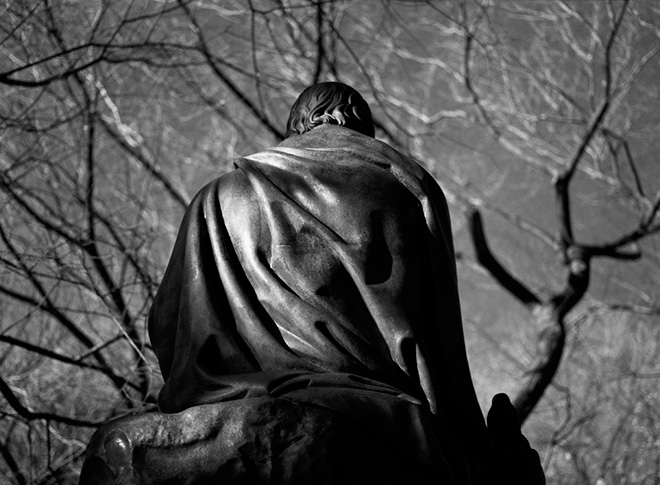 Emanuela Gardner - Sir Walter Scott, Central Park, New York