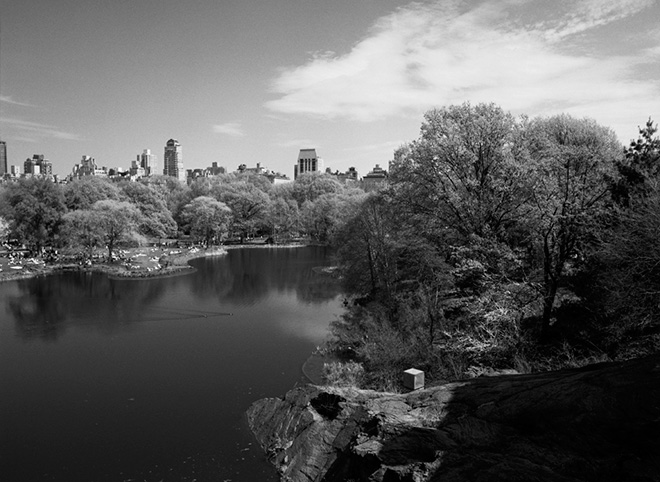 Emanuela Gardner - The Resevoir, Central Park, New York