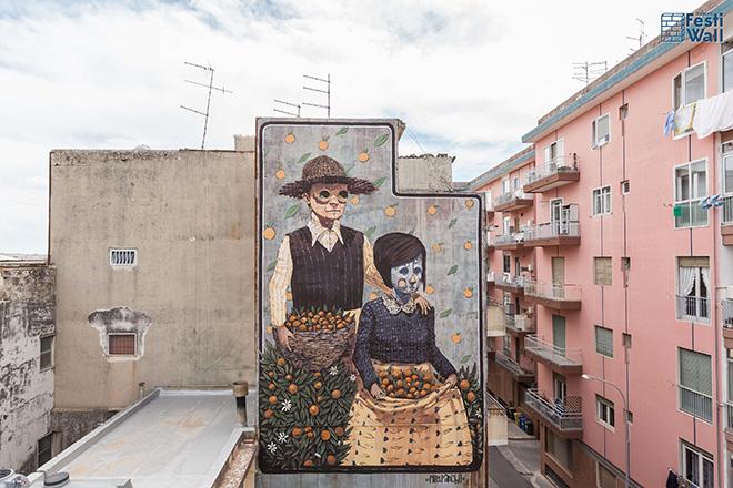 Pixel Pancho - Ragusa FestiWall, 2015