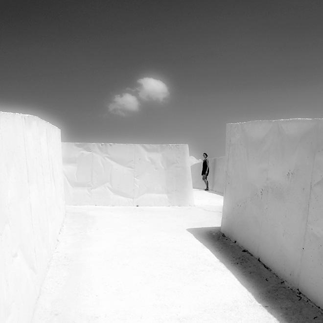 Shobha Battaglia - Gibellina, Cretto di Alberto Burri, 2016